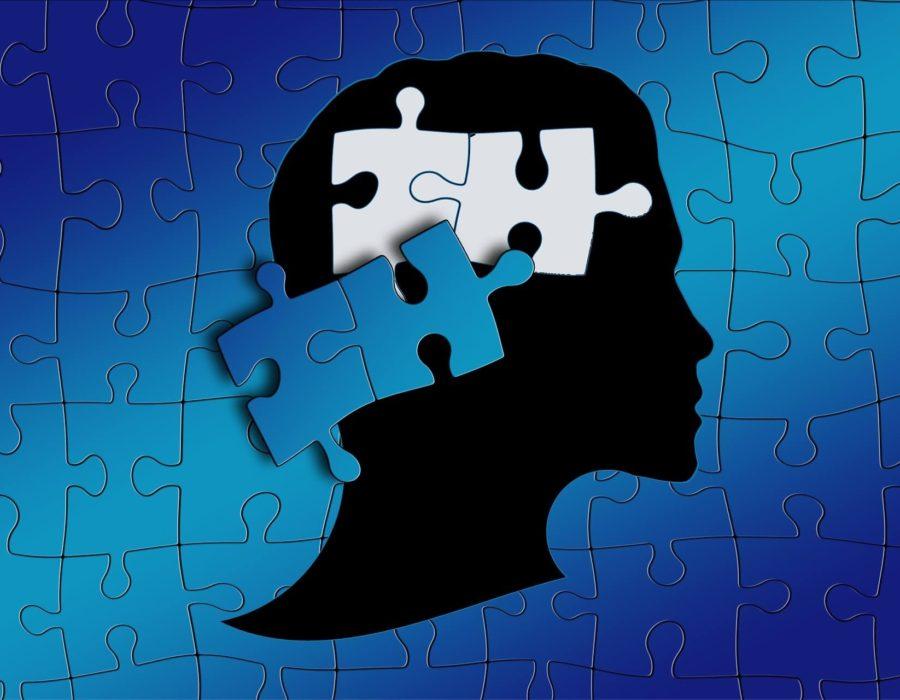 Dyslexia brain graphic