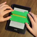 Shorter Reading Focus Card (Model #001) can also be used w/ e-readers. (Please use screen protector here.)